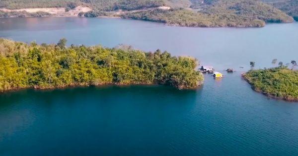 Khám phá hồ Tà Đùng từ trên cao