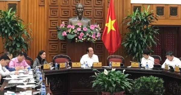 Phê bình các Bộ chỉ cử Vụ trưởng, Chánh Văn phòng họp Chính phủ