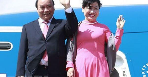 Thủ tướng Nguyễn Xuân Phúc chính thức lên đường thăm Singapore và dự hội nghị cấp cao Asean
