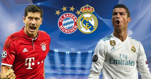 Real Madrid nắm lợi thế lớn ở lượt đi vòng bán kết cúp Champions League