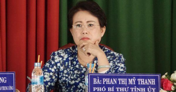 Bà Phan Thị Mỹ Thanh bị cách tất cả các chức vụ trong Đảng