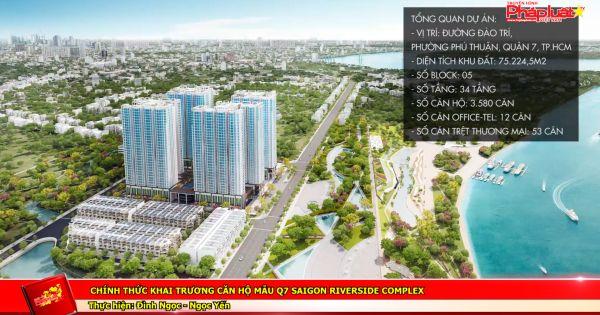 Chính thức khai trương căn hộ mẫu Q.7 Saigon Riverside Complex