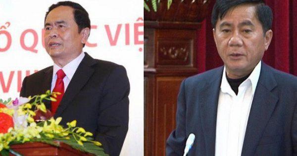Ông Trần Thanh Mẫn, Trần Cẩm Tú được bầu vào Ban bí thư
