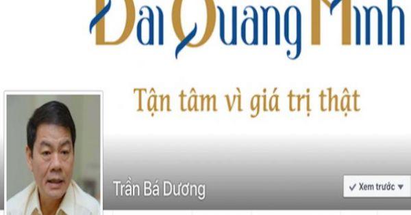 Facebook ông chủ Đại Quang Minh vừa lập đã bị đánh sập