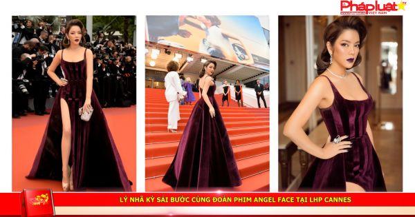 Lý Nhã Kỳ sải bước cùng đoàn phim Angel Face tại LHP Cannes