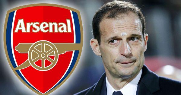 Huấn luyện viên Allegri đã ở rất gần Arsenal