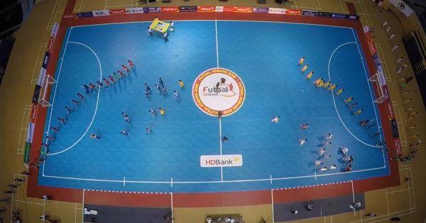 Tưng bừng khai mạc giải futsal HDBank VĐQG 2018