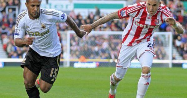 Swansea chia tay giải Ngoại hạng Anh và xuống chơi ở Championship