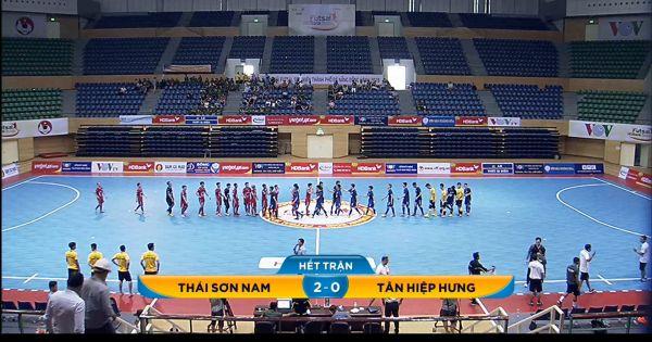 VCK giải Futsal HDBank VĐQG 2018: Thái Sơn Nam thắng nhẹ nhàng Tân Hiệp Hưng