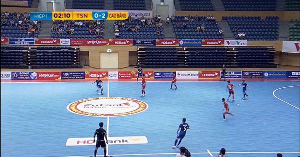 Lượt 4 VCK giải Futsal HDBank VĐQG 2018: Cao Bằng bất ngờ đánh bại Thái Sơn Nam
