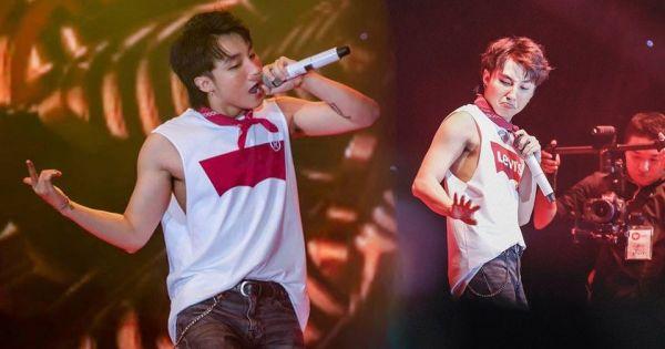 """Sơn Tùng """"đốt cháy"""" sân khấu khi lần đầu hát live """"Chạy ngay đi"""""""