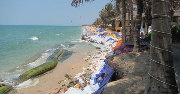 Bình Thuận: Cấm tự ý xây kè chống sạt lở tại khu du lịch