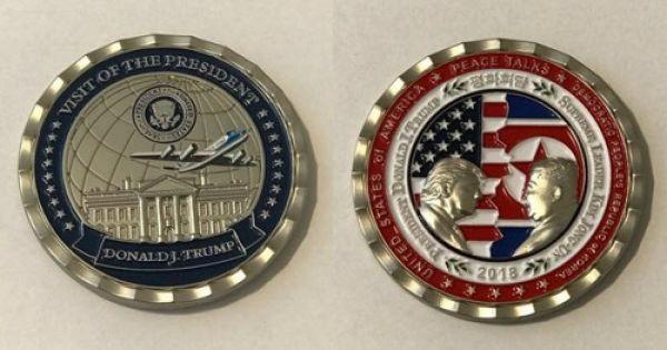 Mỹ: Nhà Trắng phát hành đồng xu kỷ niệm cuộc gặp thượng đỉnh Mỹ - Triều