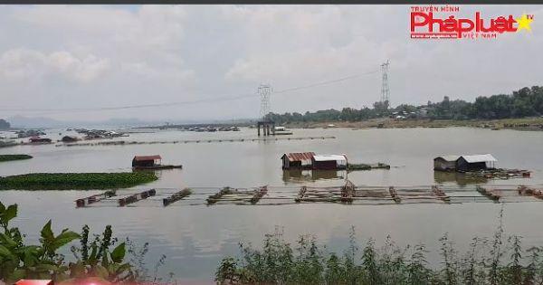 Nhiều nhà dân xây dựng trái phép trên sông la ngà