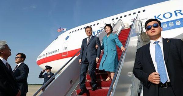Tổng thống Hàn Quốc thăm chính thức Hoa Kỳ
