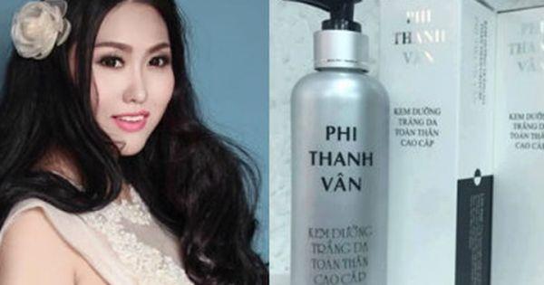 Công ty mỹ phẩm Phi Thanh Vân bị phạt 70 triệu đồng
