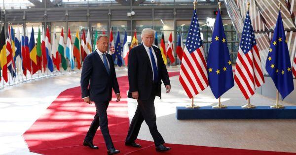 Liên minh Châu Âu bàn biện pháp trả đũa thương mại Mỹ