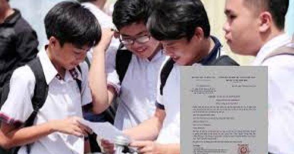 Bộ GD&ĐT đề nghị công an điều tra văn bản giả mạo về thi lớp 10
