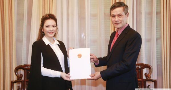 Lý Nhã Kỳ làm Lãnh sự danh dự Romania tại TP HCM