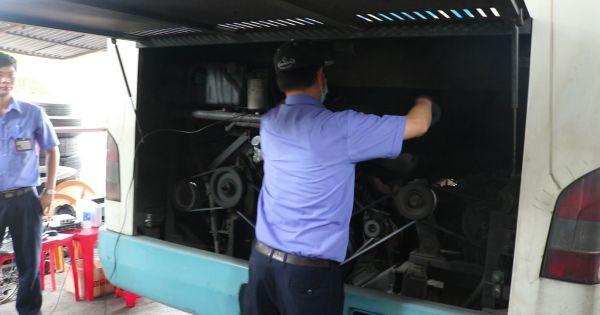 Tp.HCM tăng cường đo khí thải của xe buýt, xe tải
