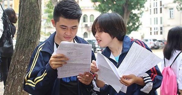 Hà Nội: Gần 95.000 học sinh dự thi vào lớp 10