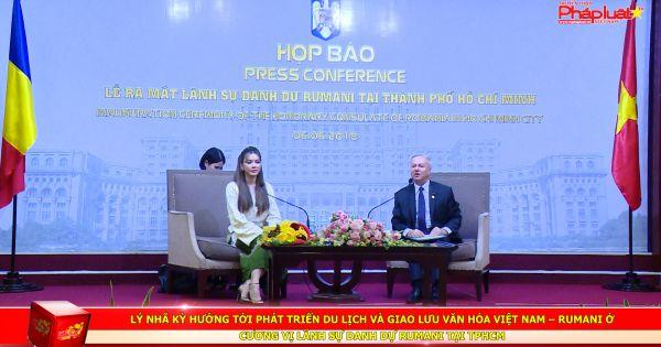 Lý Nhã Kỳ trở thành Lãnh sự danh dự Rumani tại TPHCM