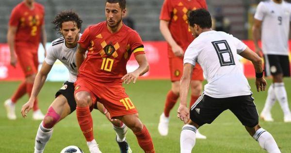 Bỉ thắng giao hữu Ai Cập ba bàn cách biệt, chạy đà hướng đến World Cup