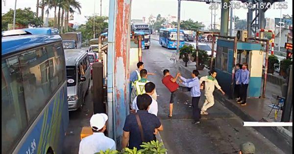Công an vào cuộc vụ tài xế tông barie, đánh nhân viên BOT Tân Đệ