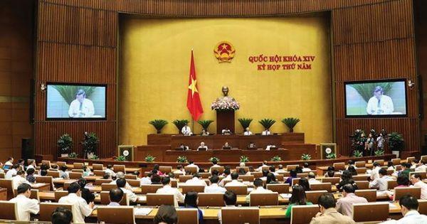Quốc hội thông qua Nghị quyết Chương trình luật bổ sung, sửa đổi 2019