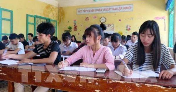 Sở GD&ĐT Đắk Nông gửi công văn yêu cầu các trường dừng thu tiền hỗ trợ kỳ thi THPT Quốc gia