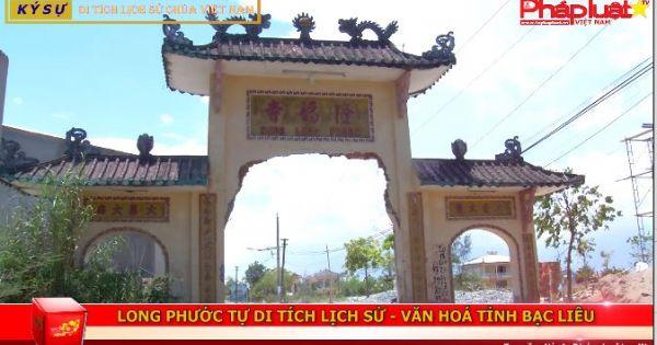 Long Phước tự - Di tích lịch sử văn hóa tỉnh Bạc Liêu