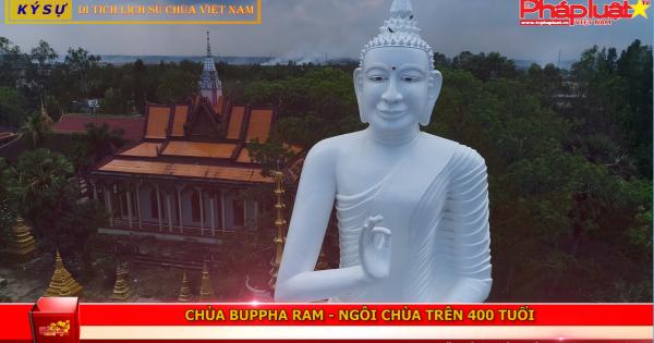 Chùa Buppharam: Ngôi chùa trên 400 tuổi