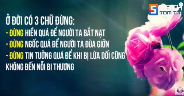 100 Câu nói THÂM THÚY về CUỘC SỐNG Giúp Bạn TỈNH NGỘ!