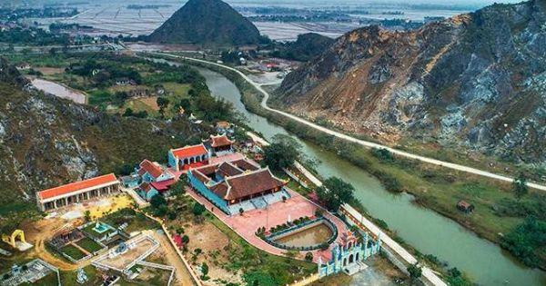 Đề nghị dừng hoạt động mỏ đá đe dọa di tích chùa Hàn Sơn
