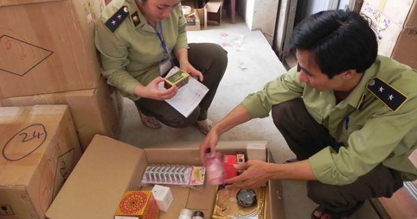Chính phủ tăng cường chống buôn lậu dược phẩm, mỹ phẩm