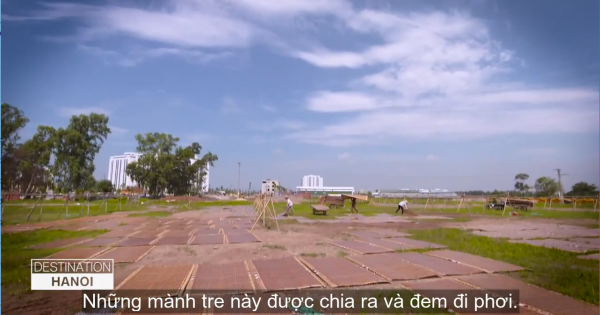 Làng miến hơn 400 năm ở Hà Nội lên truyền hình Mỹ