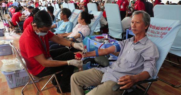 """TP HCM: 1.500 đơn vị máu được tiếp nhận trong ngày hội """"Hành trình đỏ 2018"""""""