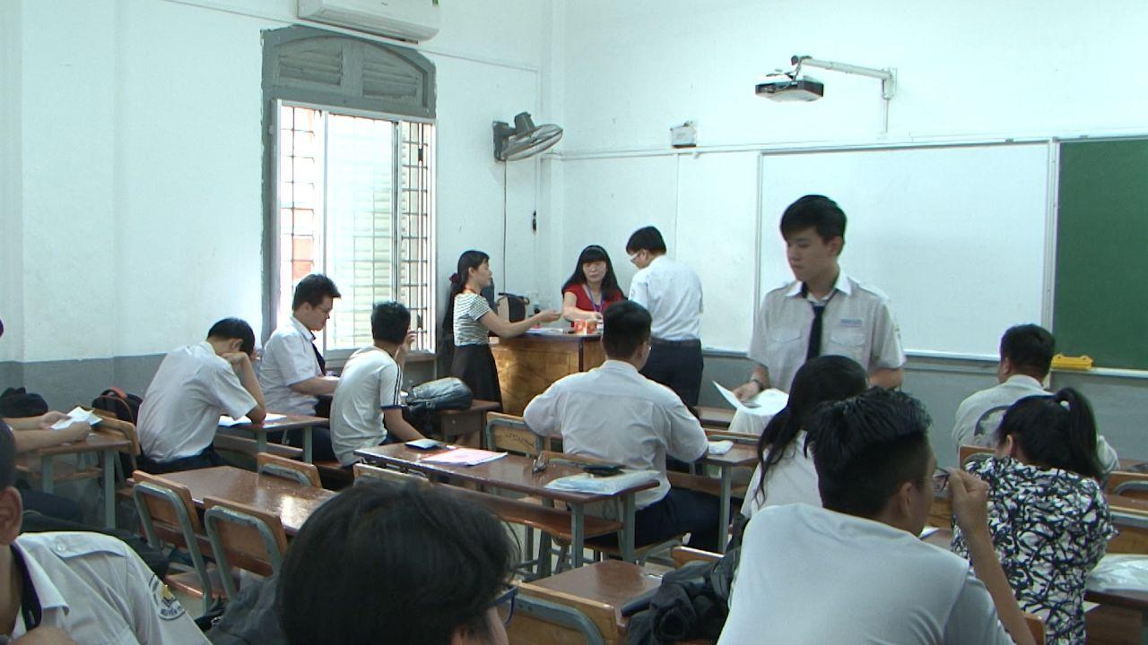 45 thí sinh vi phạm quy chế thi trong ngày đầu thi THPT quốc gia 2018