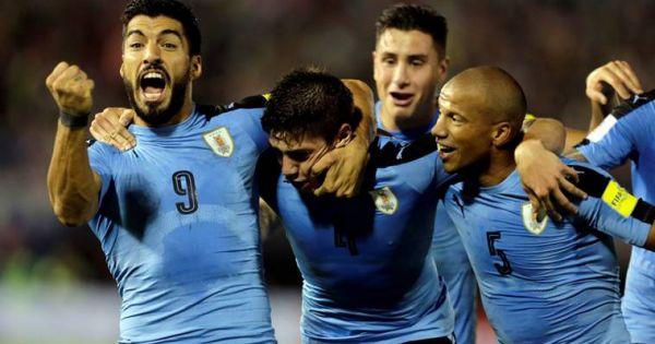 World Cup 2018: Nga giữ chân, Uruguay giành thắng lợi 3-0 và đoạt ngôi đầu bảng A