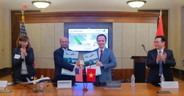Đại gia Trịnh Văn Quyết mua 20 máy bay Boeing 787-9 trị giá 5,6 tỷ USD