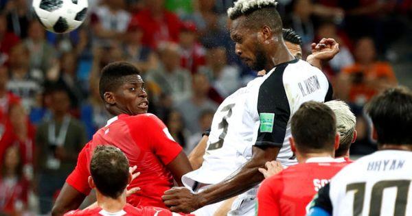 World Cup 2018: Chia điểm với Costa Rica, Thụy Sĩ vẫn đi tiếp