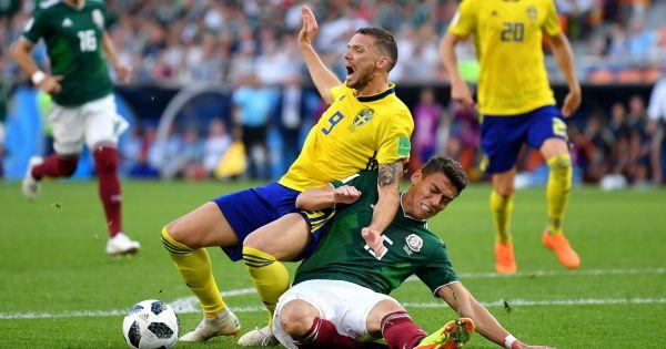 World Cup 2018: Thụy Điển – Mexico cùng nhau đi tiếp