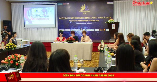 Diễn đàn Nữ doanh nhân ASEAN 2018