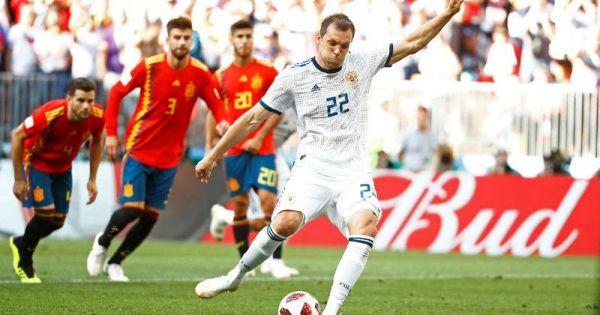 World Cup 2018: Loại Tây Ban Nha ở loạt luân lưu, Nga tiến vào tứ kết