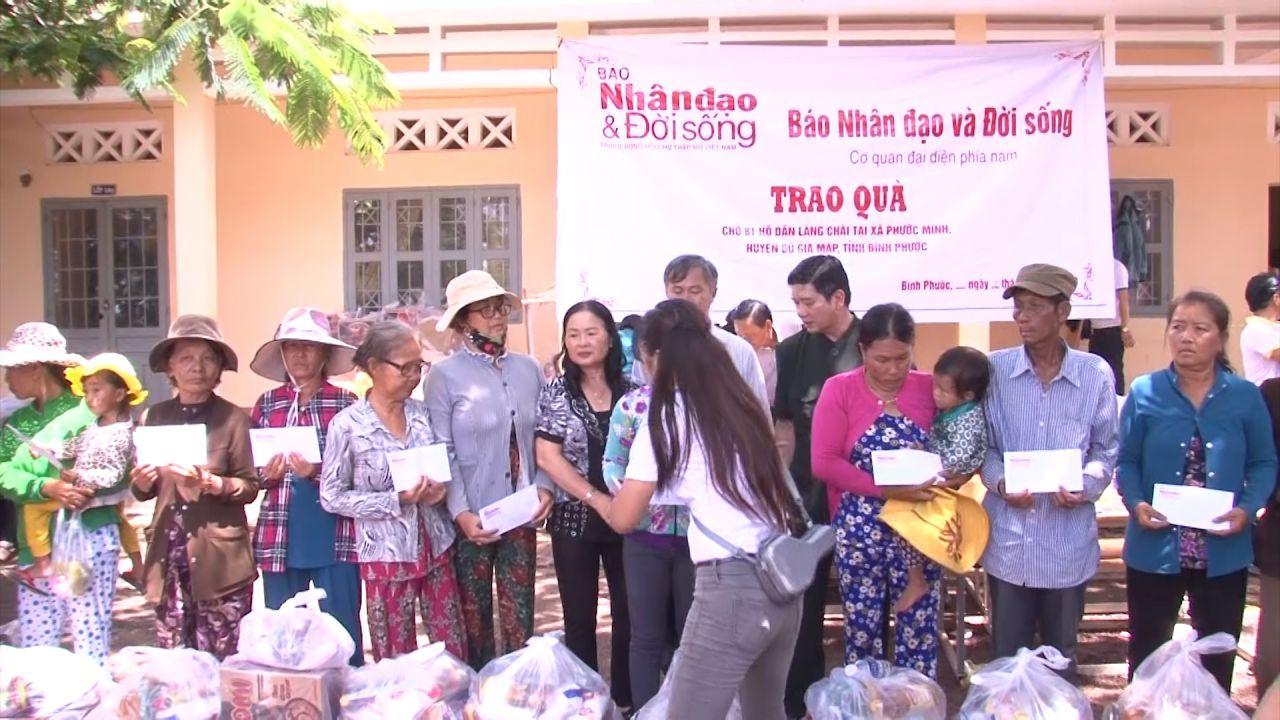 Bình Phước: Báo Nhân đạo & Đời Sống chia sẻ những khó khăn cho đồng bào nghèo