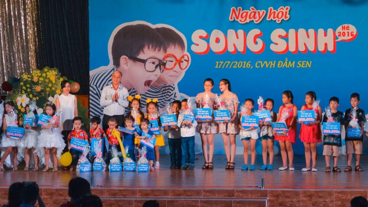 Các cặp song sinh sẽ có cơ hội quy tụ tại Sài Gòn