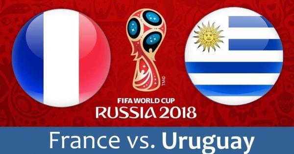 World Cup 2018: Pháp vượt qua Uruguay vào bán kết