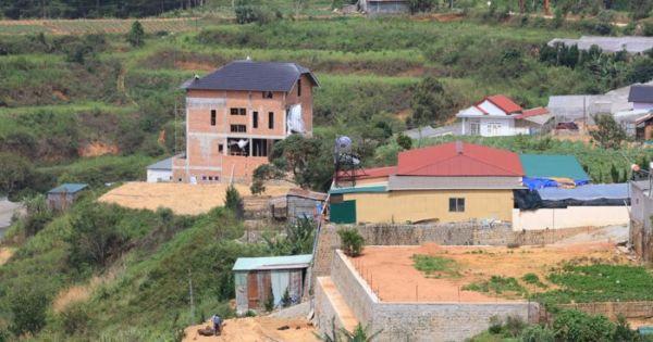 Đà Lạt: Ít nhất 4 biệt thự xây dựng không phép