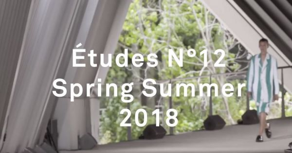 Etudes   Spring Summer 2018 Full Fashion Show   Exclusive