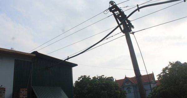 Xã Minh Thành-Nghệ An: Dân sống chung với điện trung thế